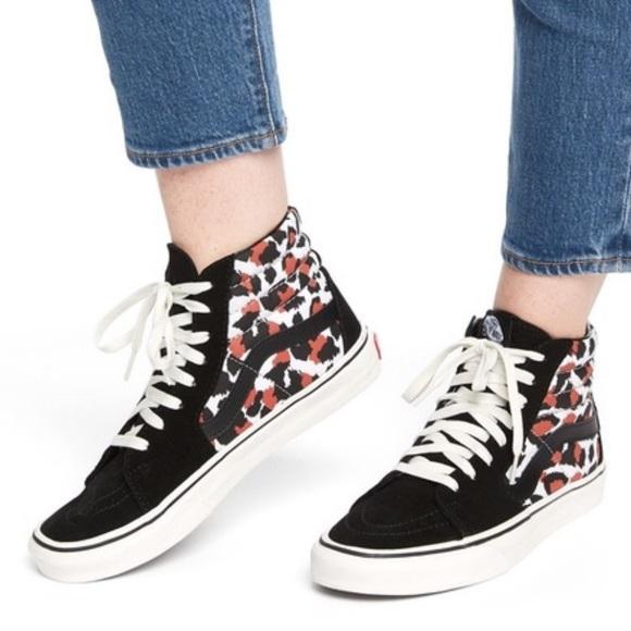 Vans Shoes | Vans Leopard Sk8hi Shoes